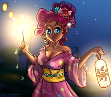 Summer Sun Celebration Pinkie Pie by Superkeen