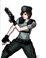 Jill Valentine Colored by Exidor02