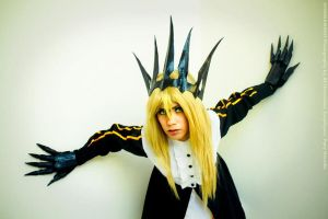 Chariot Cosplay Black Rock Shooter by Misaki-Momox3