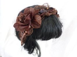 brown lolita hairband by Serata