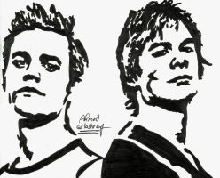 The Salvatore Brothers by Ahmed-A73