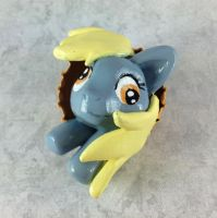Derpy Hooves Pop-Out Button by LeiliaK
