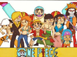 One Piece by BradHammer33