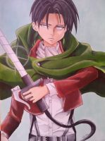 Rivaille Heicho by fullcel14