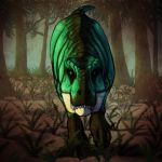 Mintchocolatechiposaurus rex Stalk by vermin06