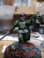 Captain of the Cadian 427th by Kufspawn