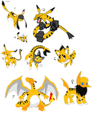 AT: Tiger Pokemon Adopts- GONE by sam-speed
