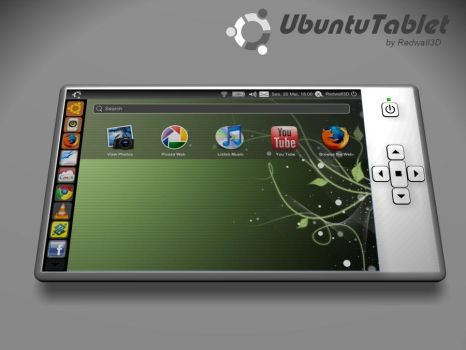 Ubuntu Tablet by redwall3d