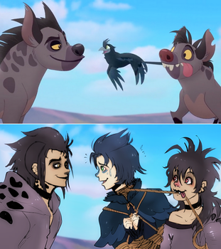 The Call of the Drongo - The Lion Guard - by KiraiRei
