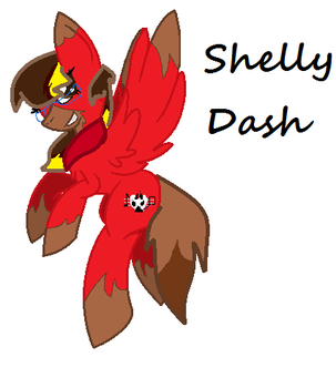 Shelly Fox and Fire Dash Fusion by amazingphan24