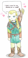 Legolas... Cupid? by springloaded