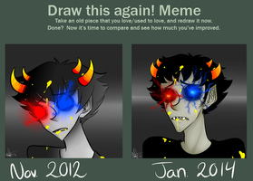 Draw this again - Sollux by W-i-s-s-l-e-r