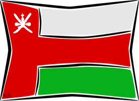 Oman flag by iAiisha