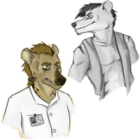 The Pretty Boy and the Professor by DefectiveThylacine