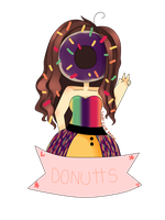 Commission Donutts by LadyCuteDraw