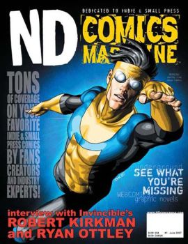 ND Comics Magazine Cover by BrettND