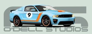 2010 Mustang by 7caco