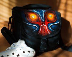 Majora's Mask camera bag by coralinen23