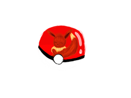 PC: Evoli in Pokeball by Livvy-san