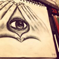 All seeing Eye by BrandyNJackson