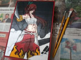 Erza Scarlet (Final Part) by Nolicedul
