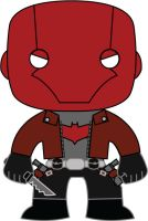 Red Hood (Jason Todd-New 52)- POP Heroes Style by POPPED-UP