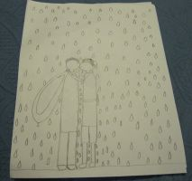 K2 - Kissing in the Rain by moulinrougegirl77