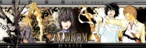 Death Note Sig Banner by messinmotion