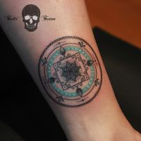 Mandala tattoo by SimonaBorstnar