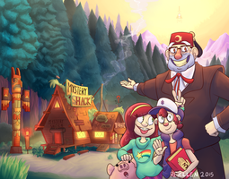 Welcome to the Mystery Shack! by Rezllen
