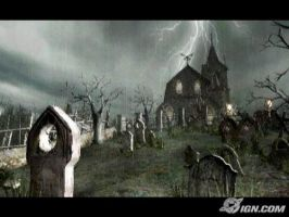 Resident Evil 4 Graveyard by AssassinGemini007