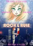 Rock and Rule faux Poster by AlyssaStehle