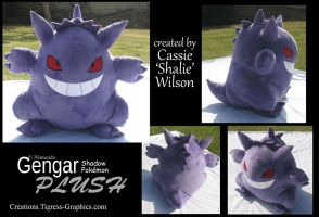 Pokeplush Gengar by Shalie