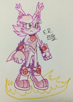 :Paper Sketch: Overlocked Nicole by Shadow4one