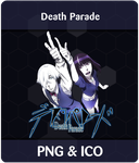 Death Parade - Anime Icon by Rizmannf
