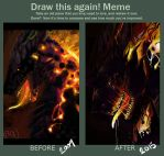 Meme  Before And After by Zetsubou-Ninja