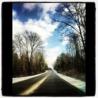Winter drive by icrybehindsunglasses