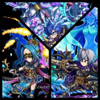 Brave Frontier Mock Units (Water Elements) by MSUniver