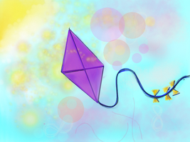 Dreaming Kite by Astrikos
