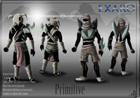 Exaro Armour Concept - Primitive by AaronQuinn