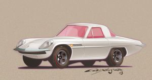 Mazda Cosmo Hot Wheels by candyrod