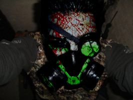 Gas Mask Zombie by kabicxulub