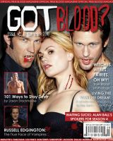 GOT BLOOD? - Magazine Cover by nicolehayley