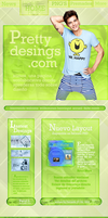 Layout Simple Green by paty13