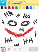 Draw Something - Villain by Kirby-Force