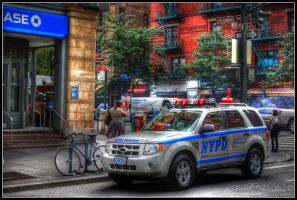 NYPD HDR second try by The-proffesional