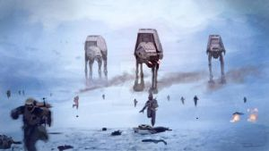 Invasion of Hoth by dsilvabarred