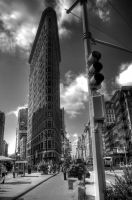 Flatiron Building, New York by gavwvin
