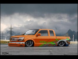 Chevy Colorado low by Yzn90