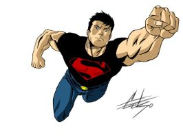 Superboy by celsohenrique
